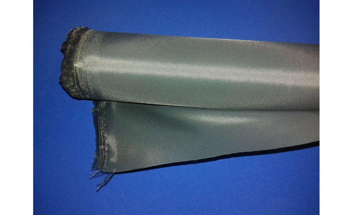 OLIVE GREEN 4oz PU coated nylon waterproof fabric sold by the metre 150cm wide